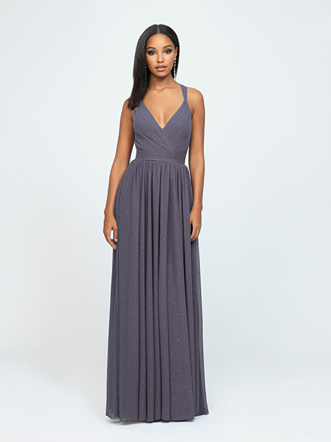 1609 gown from the 2019 Allure Bridesmaids collection, as seen on Bride.Canada