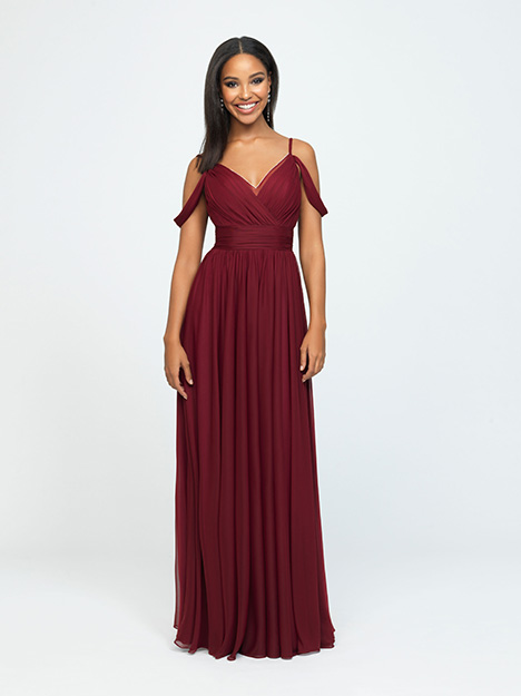 1611 gown from the 2019 Allure Bridesmaids collection, as seen on Bride.Canada