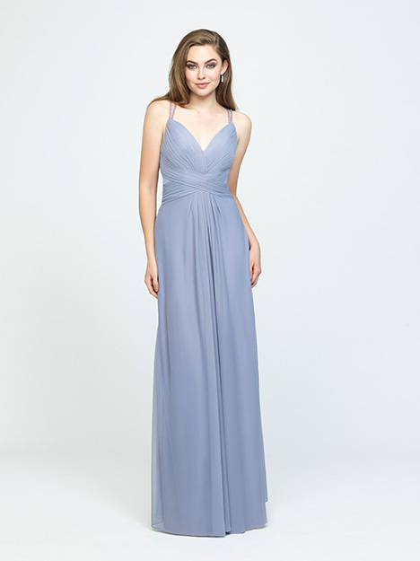 1612 gown from the 2019 Allure Bridesmaids collection, as seen on Bride.Canada