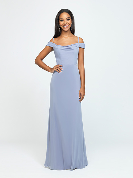 1613 gown from the 2019 Allure Bridesmaids collection, as seen on Bride.Canada