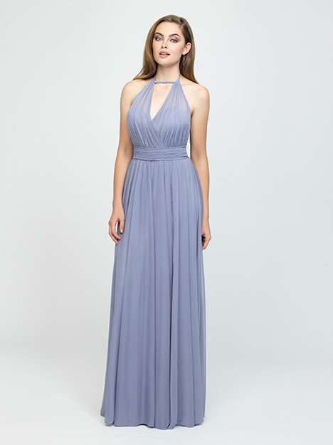 1616 gown from the 2019 Allure Bridesmaids collection, as seen on Bride.Canada