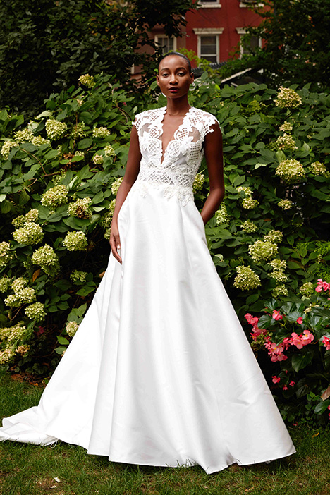 The Ashby gown from the 2019 Lela Rose collection, as seen on Bride.Canada