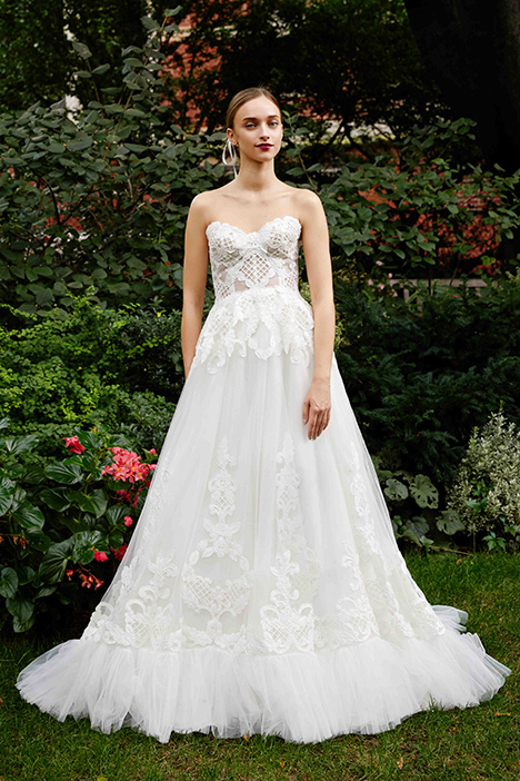 The Dorsay gown from the 2019 Lela Rose collection, as seen on Bride.Canada