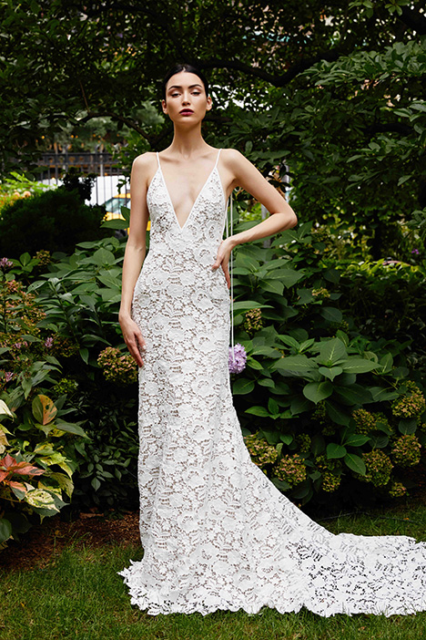 The Essex gown from the 2019 Lela Rose collection, as seen on Bride.Canada