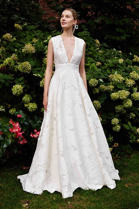 The Laurel gown from the 2019 Lela Rose collection, as seen on Bride.Canada