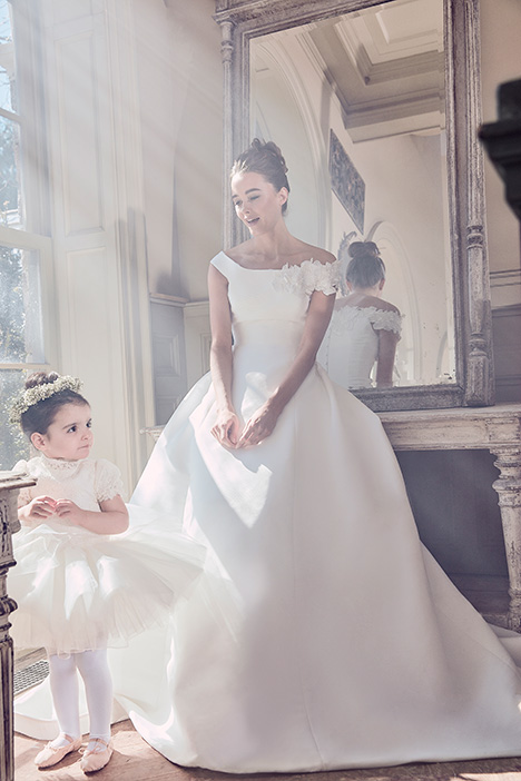 OPHELIA gown from the 2019 Sareh Nouri collection, as seen on Bride.Canada