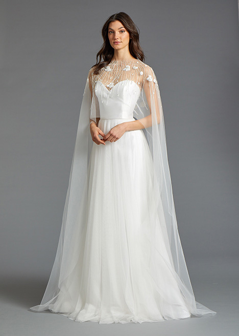 Elsa (2) gown from the 2019 Tara Keely by Lazaro collection, as seen on Bride.Canada