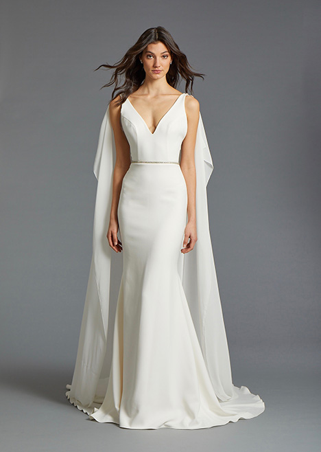 Laura gown from the 2019 Tara Keely by Lazaro collection, as seen on Bride.Canada