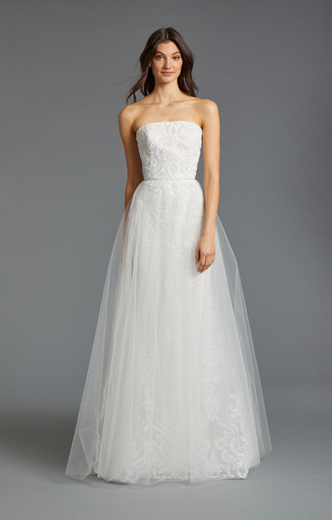 Kiara gown from the 2019 Tara Keely by Lazaro collection, as seen on Bride.Canada