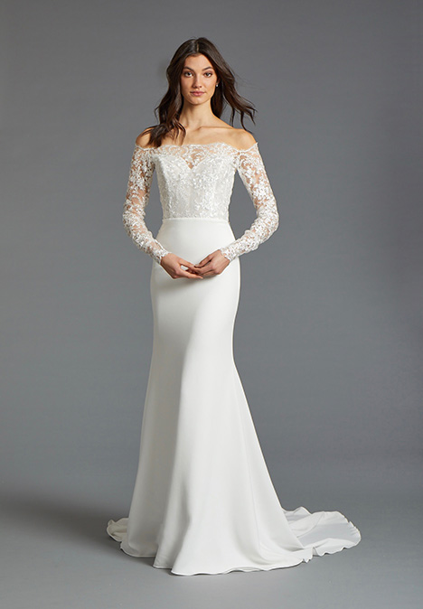 Emilia gown from the 2019 Tara Keely by Lazaro collection, as seen on Bride.Canada