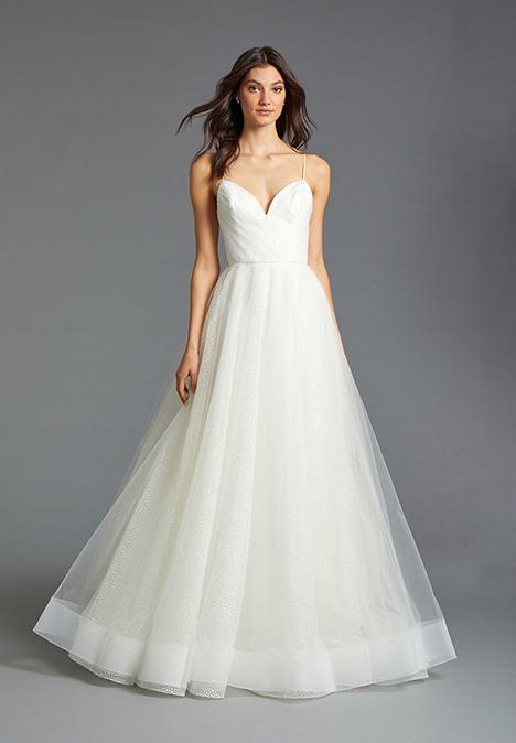 Sol 2907 gown from the 2019 Tara Keely collection, as seen on Bride.Canada