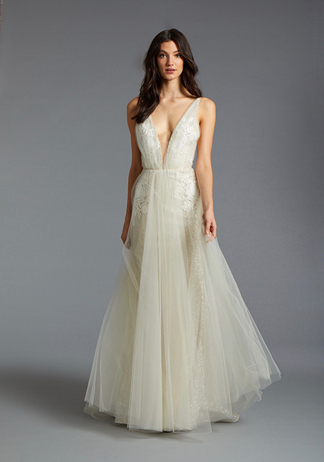 Alessandra gown from the 2019 Tara Keely by Lazaro collection, as seen on Bride.Canada