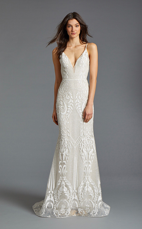 Sofia gown from the 2019 Tara Keely by Lazaro collection, as seen on Bride.Canada