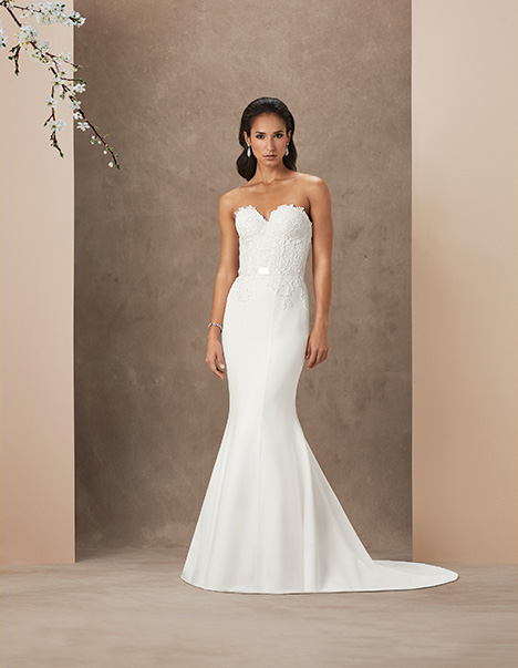 Cara gown from the 2019 Caroline Castigliano collection, as seen on Bride.Canada