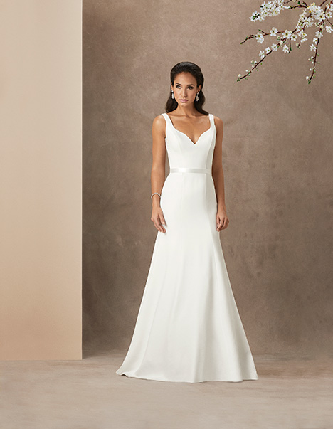Celia gown from the 2019 Caroline Castigliano collection, as seen on Bride.Canada