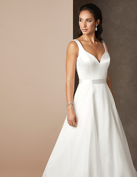 Chelsea gown from the 2019 Caroline Castigliano collection, as seen on Bride.Canada