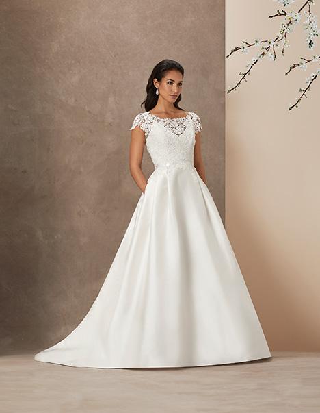 En Fleur gown from the 2019 Caroline Castigliano collection, as seen on Bride.Canada