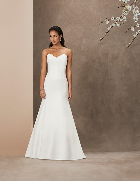 Kate gown from the 2019 Caroline Castigliano collection, as seen on Bride.Canada