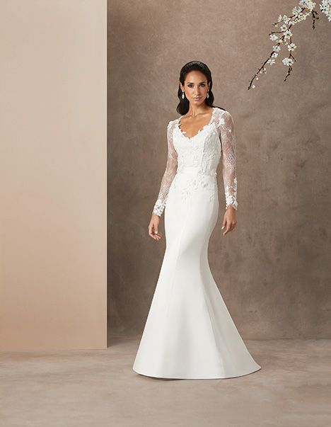 Love Heart gown from the 2019 Caroline Castigliano collection, as seen on Bride.Canada