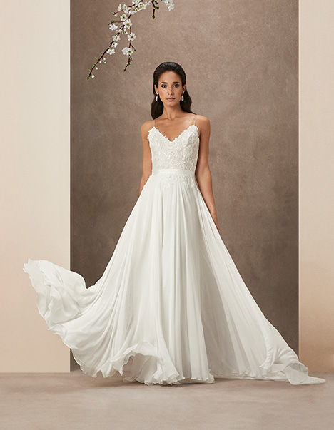 Sakura gown from the 2019 Caroline Castigliano collection, as seen on Bride.Canada