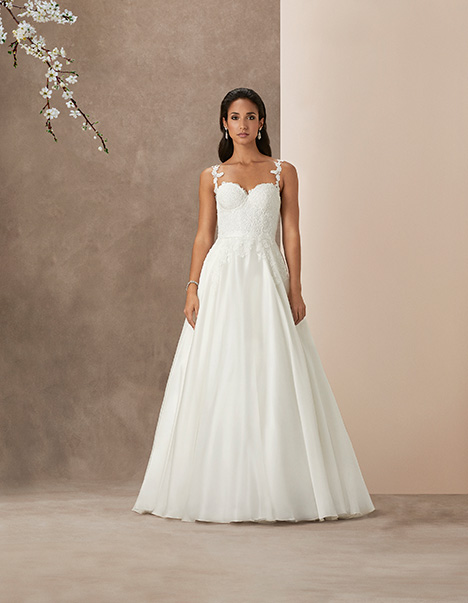 Santa Barbar gown from the 2019 Caroline Castigliano collection, as seen on Bride.Canada