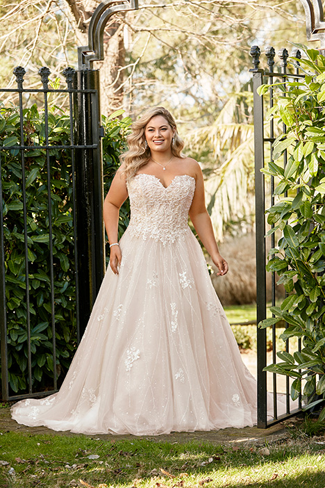 Y11940 + gown from the 2019 Sophia Tolli collection, as seen on Bride.Canada