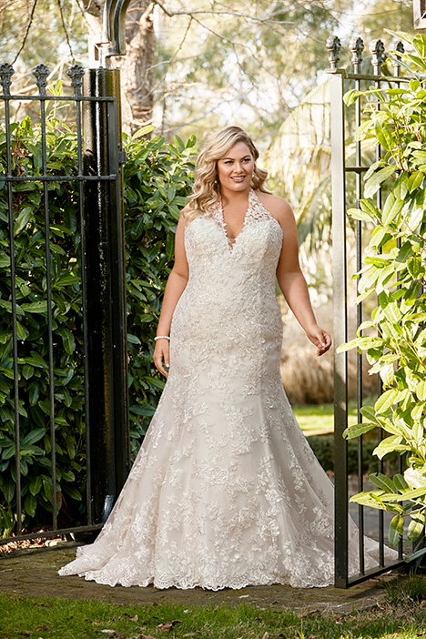 Marnie gown from the 2019 Sophia Tolli collection, as seen on Bride.Canada