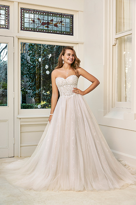 Alessia gown from the 2019 Sophia Tolli collection, as seen on Bride.Canada