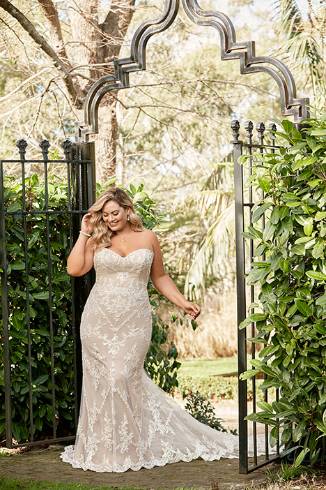 Y11946B + gown from the 2019 Sophia Tolli collection, as seen on Bride.Canada
