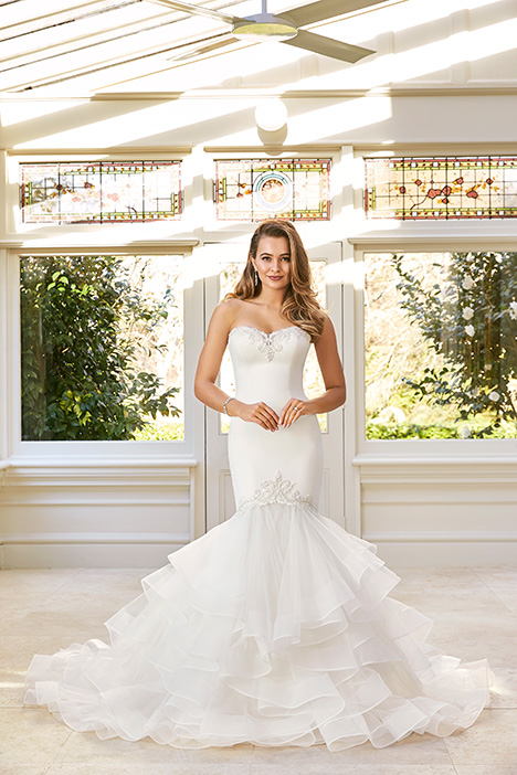 Imani gown from the 2019 Sophia Tolli collection, as seen on Bride.Canada