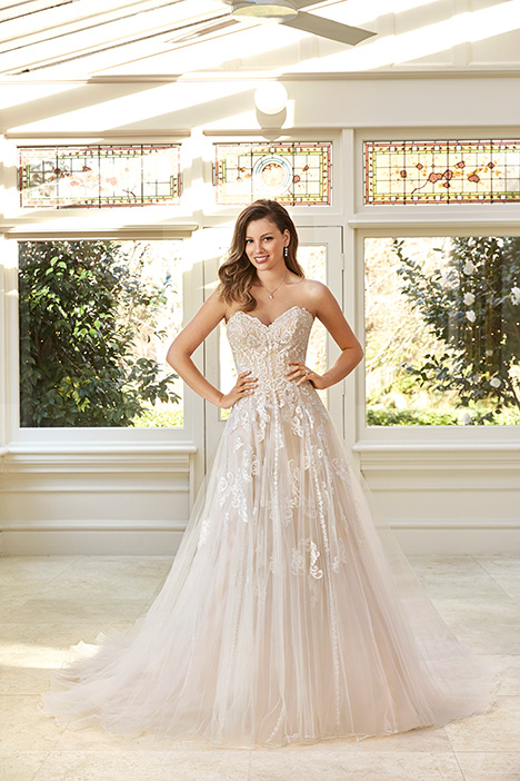 Adrienne gown from the 2019 Sophia Tolli collection, as seen on Bride.Canada