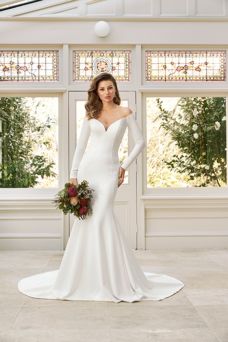 Simone Elise gown from the 2019 Sophia Tolli collection, as seen on Bride.Canada