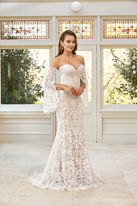 Y11951 + Y11951SL gown from the 2019 Sophia Tolli collection, as seen on Bride.Canada