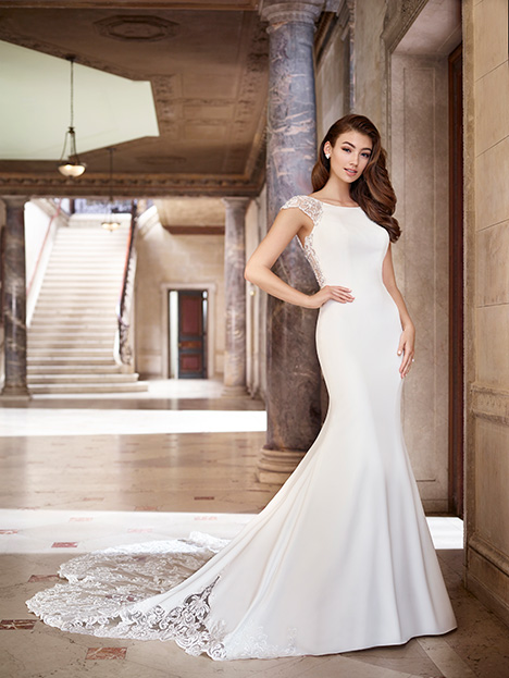 119268 gown from the 2019 Martin Thornburg for Mon Cheri collection, as seen on Bride.Canada