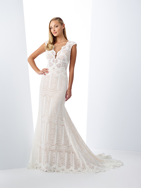 119102 gown from the 2019 Enchanting by Mon Cheri collection, as seen on Bride.Canada