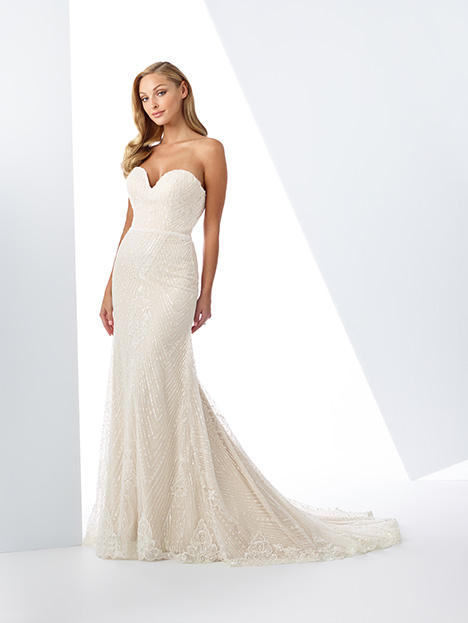 gown from the 2019 Enchanting by Mon Cheri collection, as seen on Bride.Canada