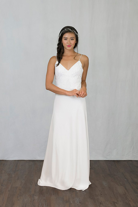 Bren gown from the 2019 Pure Magnolia collection, as seen on Bride.Canada