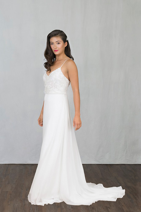 Eden gown from the 2019 Pure Magnolia collection, as seen on Bride.Canada