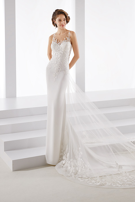 JOAB19402 gown from the 2019 Jolies collection, as seen on Bride.Canada