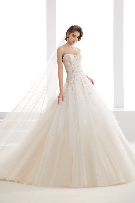 JOAB19432 gown from the 2019 Jolies collection, as seen on Bride.Canada
