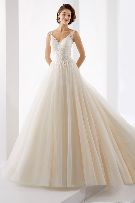 JOAB19436 gown from the 2019 Jolies collection, as seen on Bride.Canada