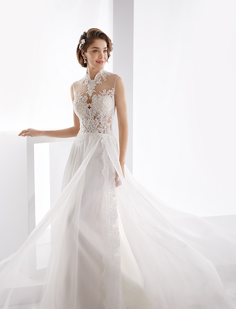 JOAB19440 gown from the 2019 Jolies collection, as seen on Bride.Canada