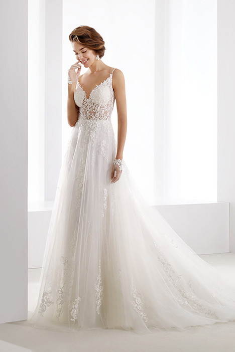 JOAB19464 gown from the 2019 Jolies collection, as seen on Bride.Canada
