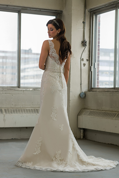 gp1100 (back) gown from the 2018 Grace by Bridalane collection, as seen on Bride.Canada