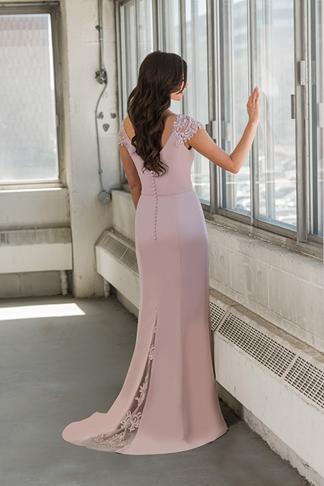8815 (back) gown from the 2018 Bridalane: Mothers & Evening collection, as seen on Bride.Canada