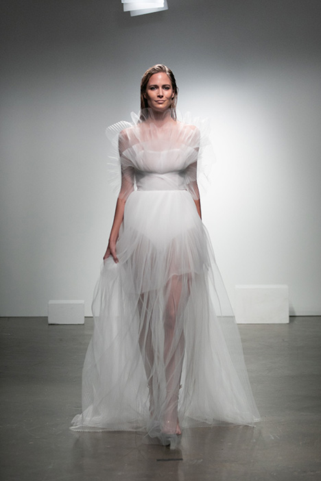 Duncan gown from the 2019 Rime Arodaky Bridal collection, as seen on Bride.Canada