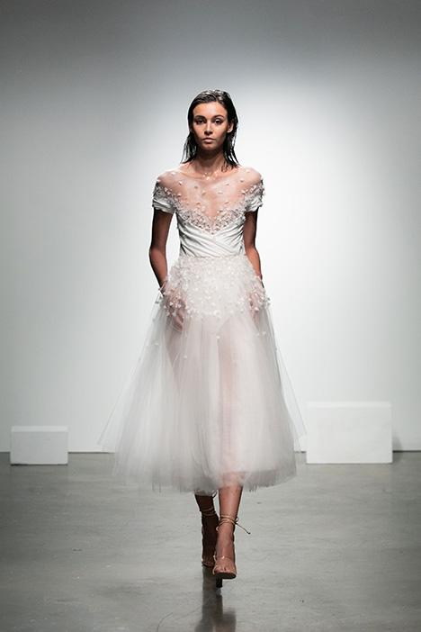 Eva gown from the 2019 Rime Arodaky Bridal collection, as seen on Bride.Canada