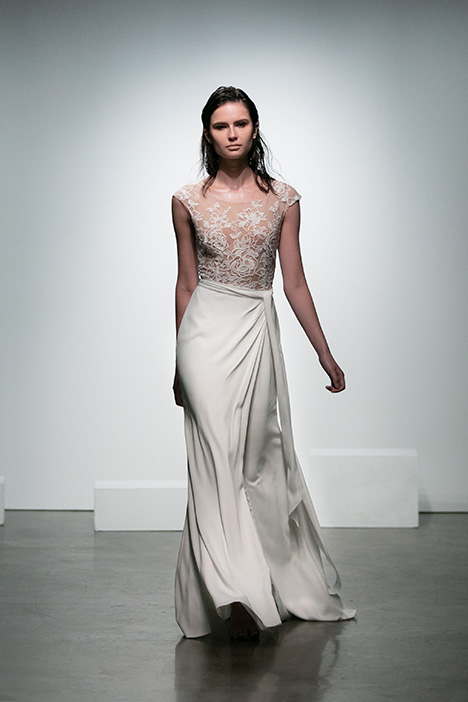Bolero gown from the 2019 Rime Arodaky Bridal collection, as seen on Bride.Canada