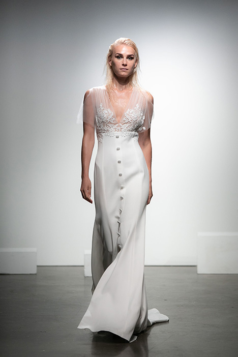 Livry gown from the 2019 Rime Arodaky Bridal collection, as seen on Bride.Canada