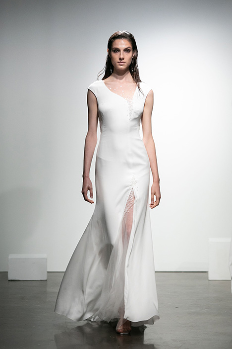 Ravel gown from the 2019 Rime Arodaky Bridal collection, as seen on Bride.Canada